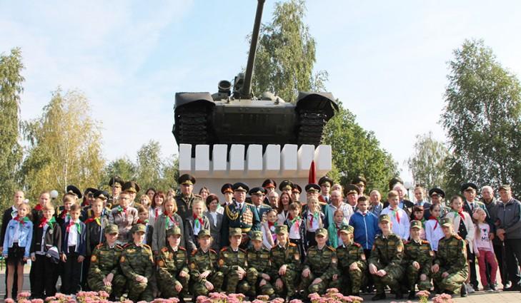 День танкистов в Слуцке