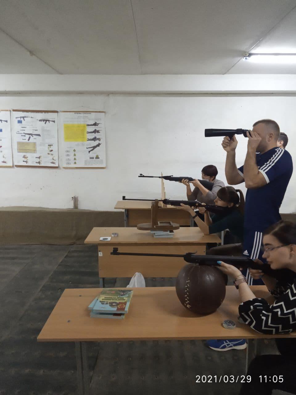 Соревнования по стрельбе пулевой