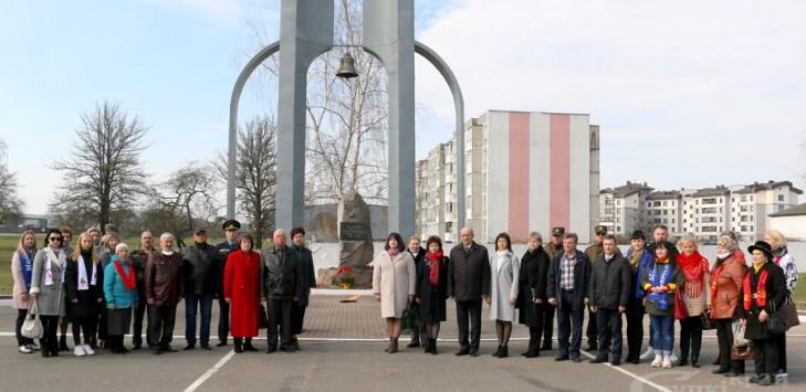 Митинг-реквием в память о жертвах концентрационных лагерей